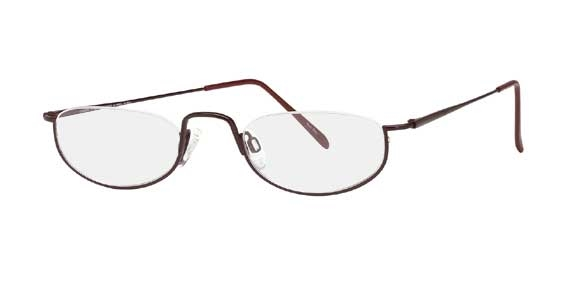 Image for Charmant Titanium  TI 8506 Half-Eye Eyeglasses