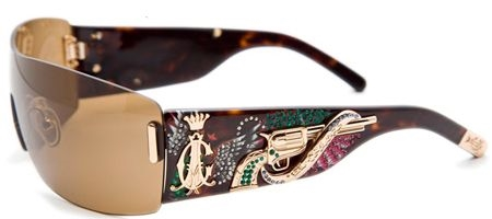 Image for Christian Audigier  CAS405 EL CALOR Shield Sunglasses