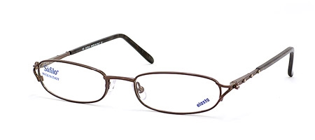 Image for Safilo Elasta Library  LIBRARY 1437 Half-Eye Eyeglasses