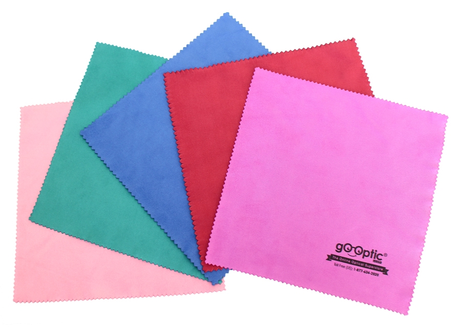 gO-Optic: Silk Cleaning Cloth (5 pack)