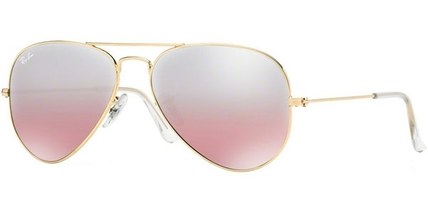 Image for Ray-Ban  RB 3025 (Aviator Large Metal with Mirrored Lenses) Aviator Sunglasses