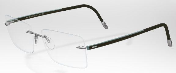 Image for Silhouette  7637 (7642 Chassis) Rimless Eyeglasses