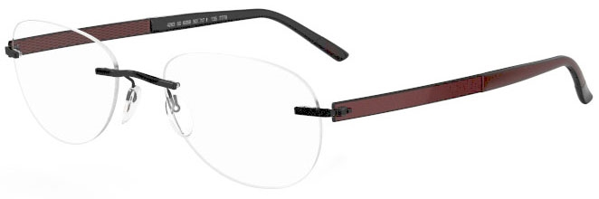 Image for Silhouette  7776 (7779 Chassis) Aviator Eyeglasses