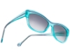 BOZ Salto Sunglasses in 2070 Turquoise / Purple Line
