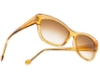 BOZ Salto Sunglasses in 5510 Yellow Crystal / White Line
