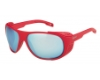 Bolle Graphite Sunglasses in 12568 Matte Red Tns W/Ice