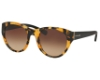 Coach HC8167F Sunglasses in 535913 Honey Mosaic/Black / Brown Gradient