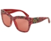 Dolce & Gabbana DG 4231 Sunglasses in 294184 Printing Rose On Black - Pink