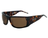 DSO Eyewear Absolut Sunglasses in AB-P0814 Shiny Dark Tort Amber Polarized Lens