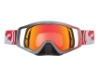 Dragon VENDETTA - Continued Goggles in 020 Fade Red / Red Ion (Size :- Large Fit)