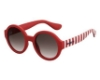 Havaianas Floripa/M Sunglasses in 0YGZ Dark Red Striped (HA brown gradient lens)
