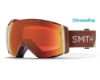 Smith Optics I/O Continued III Goggles in Adobe Split/ChromaPop Everyday Red Mirror