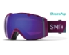 Smith Optics I/O Continued III Goggles in Grape Split/ChromaPop Everyday Violet Mirror