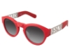 Kenzo 3168 Sunglasses in C04 Matte Red Wood