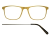 Kilsgaard 57 (Aluminium Temple) Eyeglasses in 57.5/1 Gold (Discontinued)