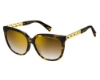 Marc Jacobs Marc 334/F/S Sunglasses in 0086 Dark Havana (JL brown ss gold lens)