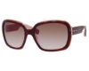 Marc Jacobs 438/S Sunglasses in 0D2U Havana Light Pink (FM brown violet shaded lens)