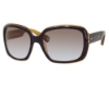 Marc Jacobs 438/S Sunglasses in 0GZT Havana Honey (NE khaki aqua lens)