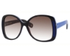 Marc Jacobs 408/S Sunglasses in 0CWG Havana Blue White (FM brown violet shaded lens)