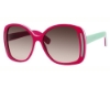 Marc Jacobs 408/S Sunglasses in 0CXS Coral Green White (K8 brown gradient lens)