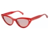 Rebecca Minkoff Brooke 1/S Sunglasses in 0LZJ Cher Red (N4 Plum Coral)