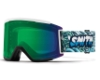Smith Optics Squad XL Continued Goggles in Tall Boy / ChromaPop Everyday Green Mirror