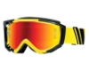 Smith Optics Fuel V.2 Sweat-X M Goggles in Yellow Archive / Red Mirror