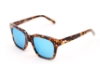 Spektre Pitti Sunglasses in Tortoise / Blue Mirror