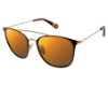Sperry Top-Sider Tierra Sunglasses in C01 Black/Gold - Polarized
