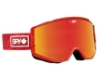 Spy ACE - CONTINUED Goggles in Knit Red w/Happy Gray Green with Red Spectra + Happy Yellow with Lucid Green
