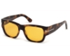 Tom Ford FT0493 Stephen Sunglasses in 52E - Dark Havana / Brown