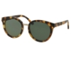 Tory Burch TY7062 Sunglasses in 11509A Tokyo Tortoise / Green Solid Polarized