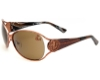 True Religion TR JACKIE Sunglasses in Shiny Copper w/ Lenses - (/BROWN)