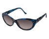 Tura 026 Sunglasses in NAV Blue Tortoise