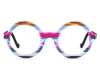 Ultra Limited Bolzano Eyeglasses in Pink Blue