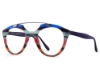 Ultra Limited Giglio Eyeglasses in Blue/Purple