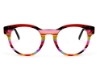 Ultra Limited Treviso Eyeglasses in Pink/Red