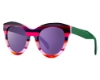 Ultra Limited Ustica Sunglasses in Pink Green/Purple