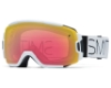 Smith Optics Vice Continued I Goggles in WHITE BLOCK Red Sensor Mirror