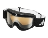 Adidas a183 Pinner Goggles in 6050 Black w/ LST Bright Mirror Lenses