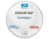 Essilor Essilor 360 Transitions® SIGNATURE VII - [Gray] Hi-Index 1.74 With Crizal Saphire AR Lenses in Essilor Essilor 360 Transitions® SIGNATURE VII - [Gray] Hi-Index 1.74 With Crizal Saphire AR Lenses