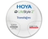 Hoya Hoyalux iD Harmony Transitions® SIGNATURE VII - [Gray or Brown] Hi-Index 1.67 Progressive W/ Hoya Super Hi Vision AR Lenses in Hoya Hoyalux iD Harmony Transitions® SIGNATURE VII - [Gray or Brown] Hi-Index 1.67 Progressive W/ Hoya Super Hi Vision AR Lenses