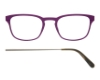 Kilsgaard 61 (Aluminium Temple) Eyeglasses in 61.8 Acetate Purple (Discontinued)