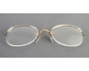 Legendary Looks Art-Bilt Rimway Cable Temples Eyeglasses in GOLD GOGGLE