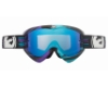 Dragon MX MDX - Continued Goggles in Paint Drip Black Blue / Blue Steel