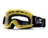 Von Zipper Sizzle Mx Goggles in LDP Lemondrop / Clear