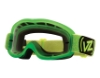Von Zipper Sizzle Mx Goggles in LIM Lime / Clear