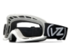 Von Zipper Sizzle Mx Goggles in WHT White Black / Clear