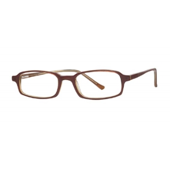 Capri Optics Traditional Plastics Clerk Eyeglasses