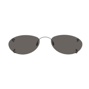 Hilco Rimless Ellipse Sunglasses